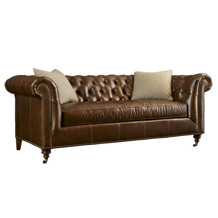 Highland House Leather Sofa