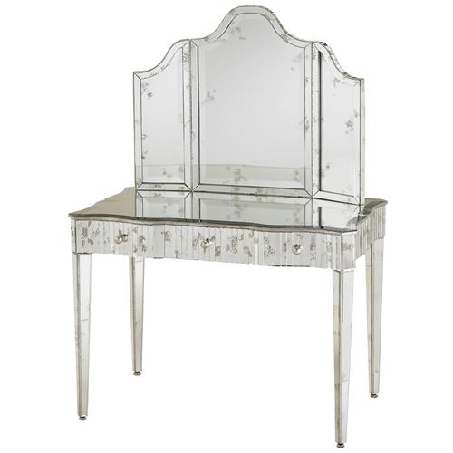 Currey & Company Gilda Vanity Wall Mirror