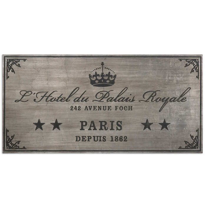 Uttermost Palais Royale Plaque