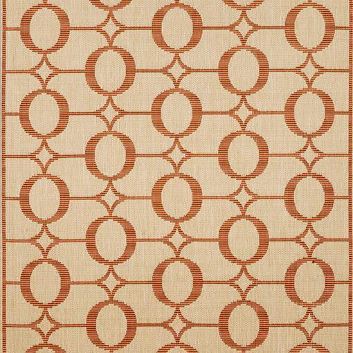 Trans Ocean Terrace Collection  Arabesque Terracotta