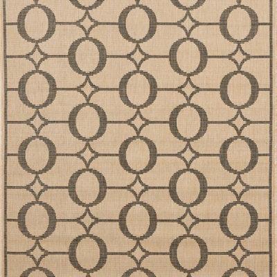 Trans Ocean Terrace Collection  Arabesque Charcoal