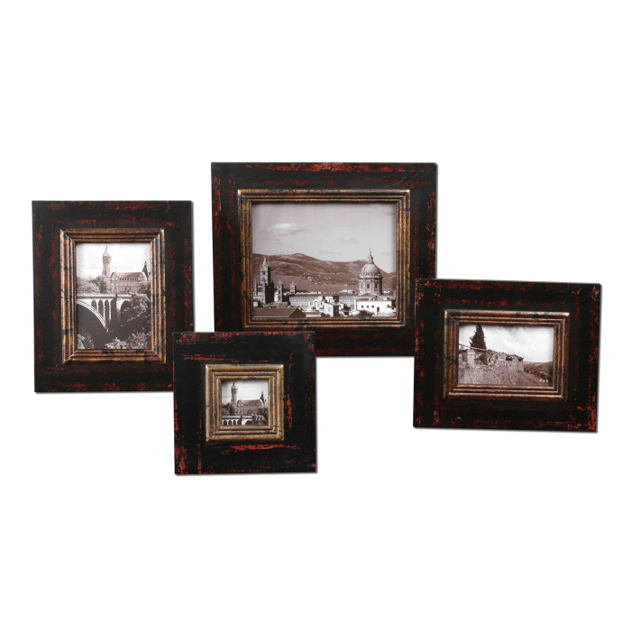Uttermost Kitra, Photo Frames, S/4