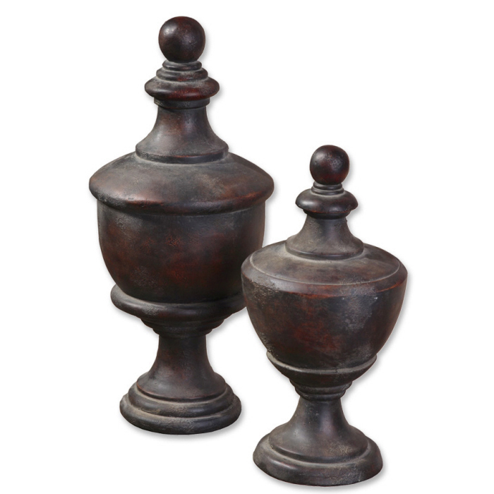 Gracelyn, Finials, S/2