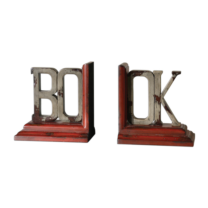Uttermost Book, Bookends, S/2