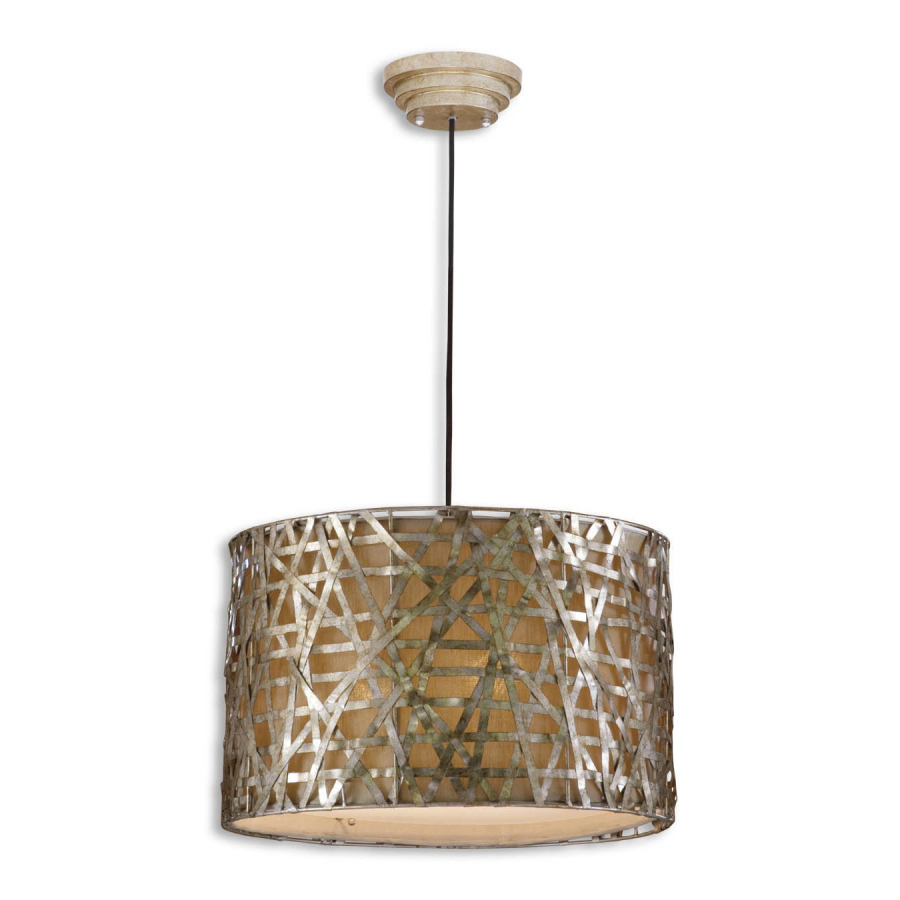 Uttermost Alita Champagne, Metal Hanging Shade