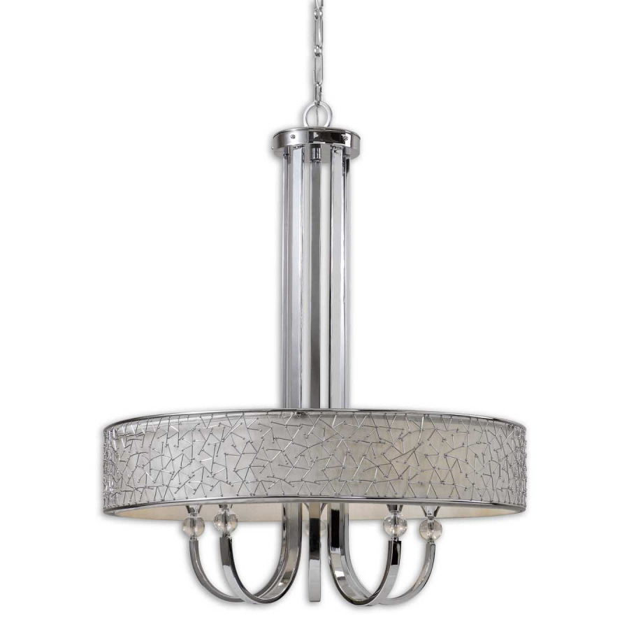 Uttermost Brandon, 5-Lt Single Shade Chandelier