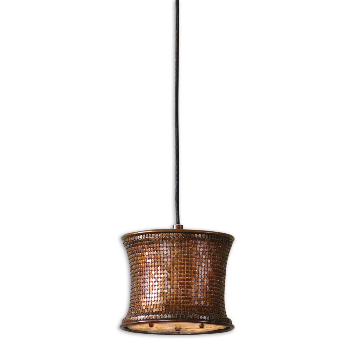 Uttermost Marcel Copper, Mini Pendant