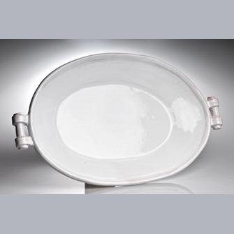 Abigails Platter Oval Casa Bianca