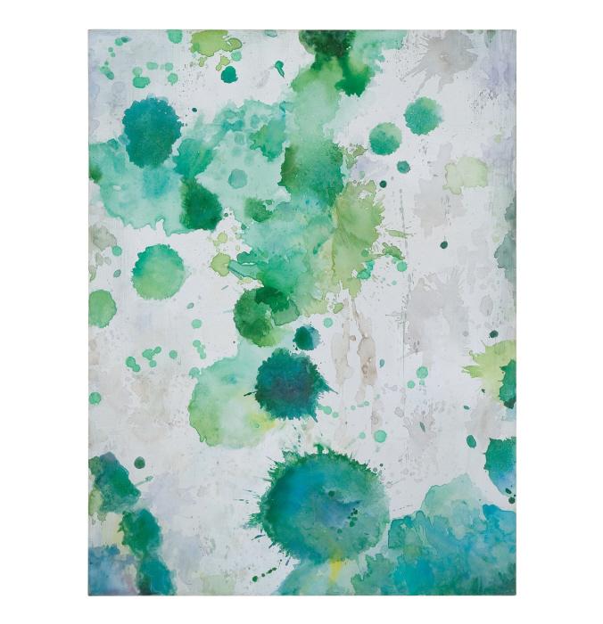 Uttermost Spots of Emerald