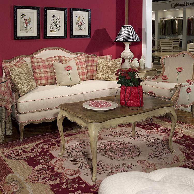 Highland House Veronique Scatterback Settee