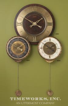 Uttermost Leonardo Chronograph Black