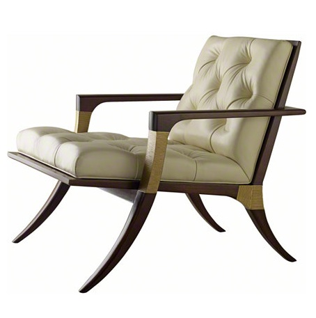 Baker ATHENS LOUNGE CHAIR - TUFTED