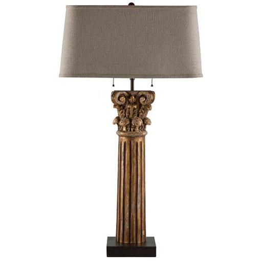 Aidan Gray Pillar of Strength Lamp