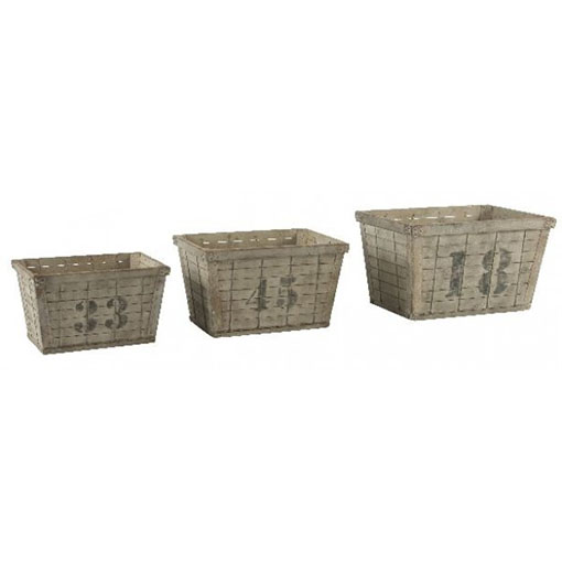 Aidan Gray Industrial Crates with Random Numbers