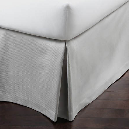 Peacock Alley Angelina Pique Bedskirt