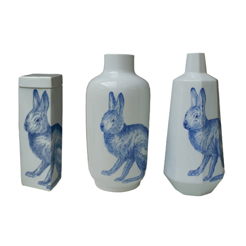 Oly Studio Fable Vessel Rabbit