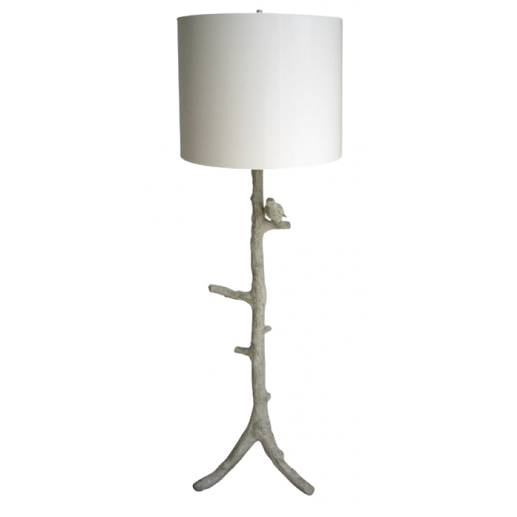 Oly Studio Faux Bois Floor Lamp