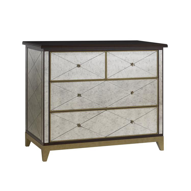 Highland House Mirage Mirrored Chest