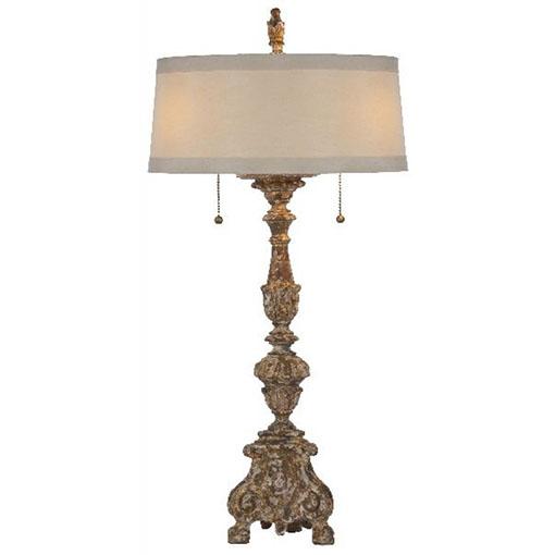 Aidan Gray The Grayson Gilded Lamp