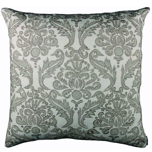 Lili Alessandra Versailles Pillow in Ivory Natural Linen