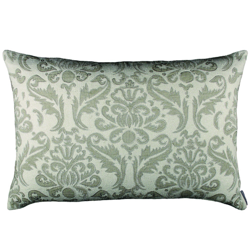 Lili Alessandra Versailles Rectangle Pillow in Ivory Natural Linen