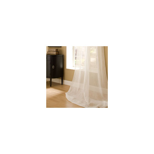 Lili Alessandra Jane Sheer Panel in White Sheet
