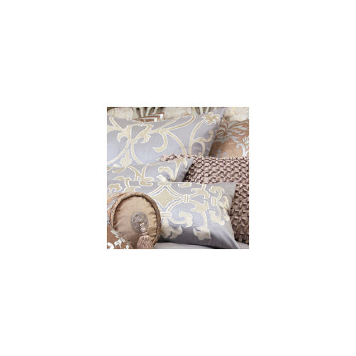 Lili Alessandra Paris Rectangle Pillow in Blue Silk