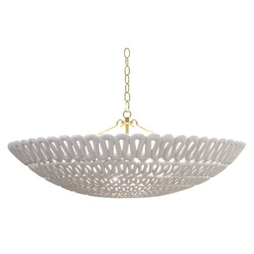Oly Studio Pipa Bowl Chandelier