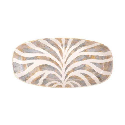 Vietri Safari Oval Platter