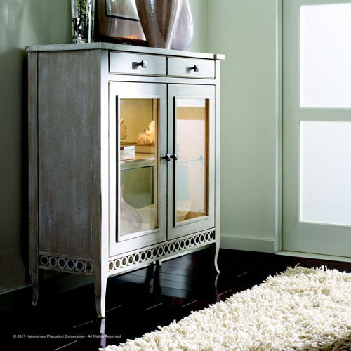 Habersham Soho Two Door Chest with Glass