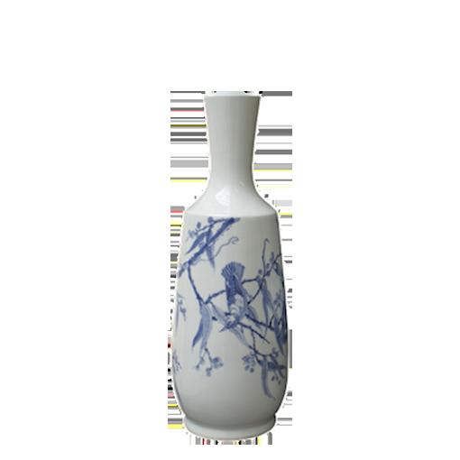 Oly Studio Throated Bird-Fable Ceramic Vessel