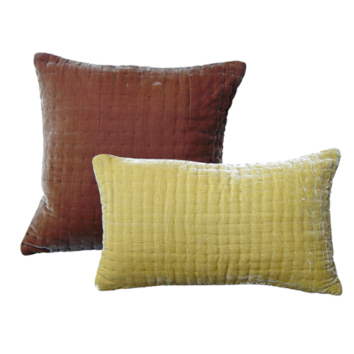 Oly Studio Velvet Popcorn Pillow