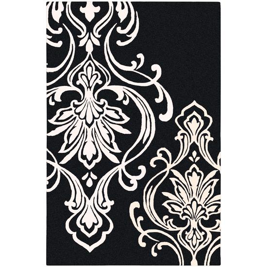 Surya Modern Classics Charcoal, Cream