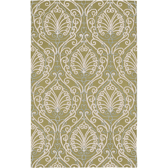Surya Modern Classics Moss, Ivory, Ash Gray