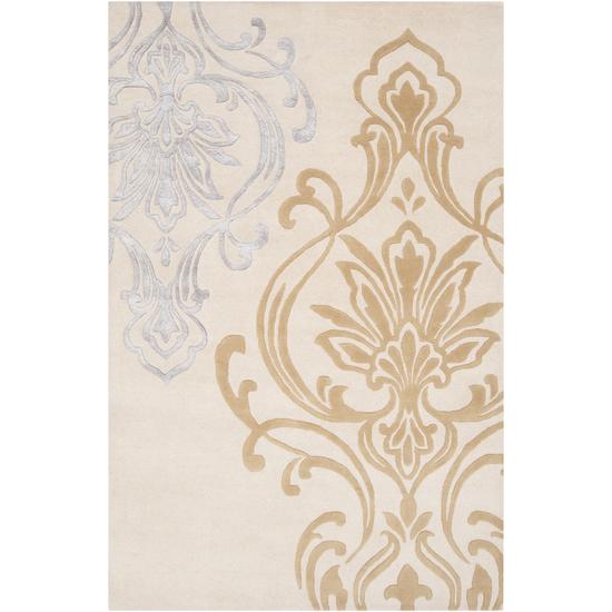 Surya Modern Classics Ivory, Mocha, Ash Gray