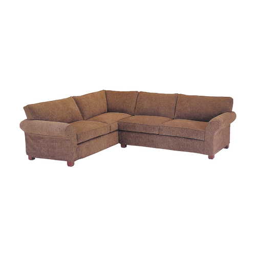 Best Slip Cover Cindy Sectional w Return