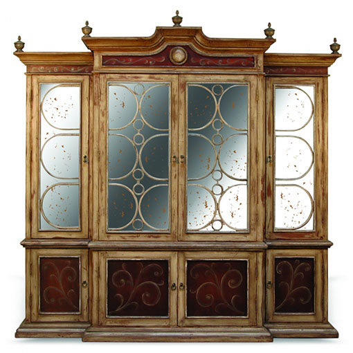 Peninsula Curio Cabinet Elysee