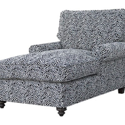 Sofa Black White 5678