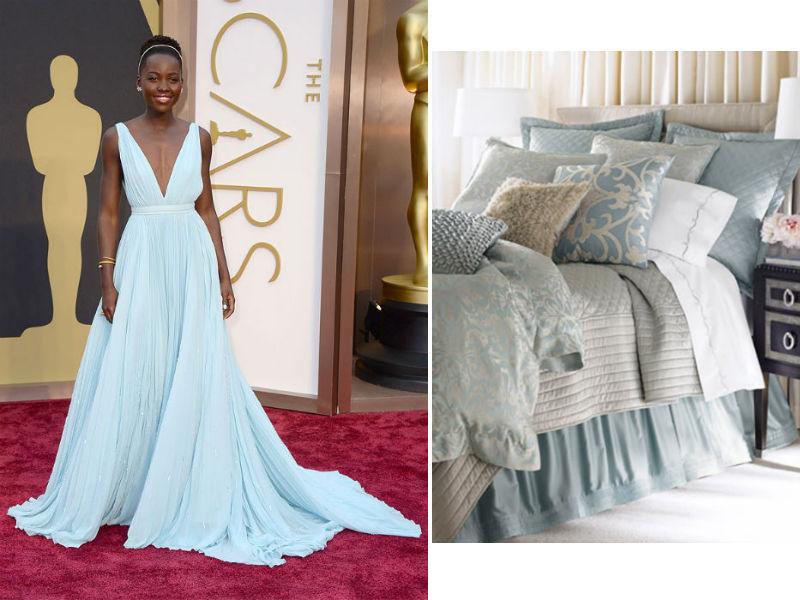 lupita and bedding