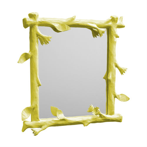 funky-faux-bois-mirror-chartreuse