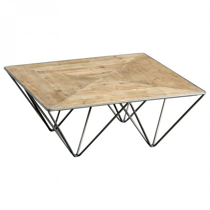 Metal Triangle Square Coffee Table