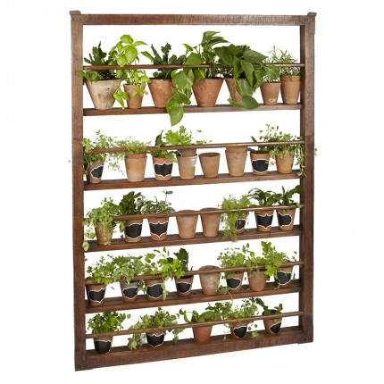 Living Herb Wall in Saddle