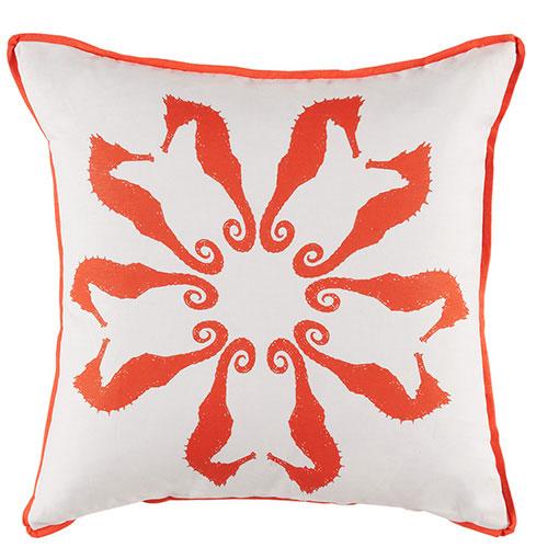 seahorse pillow